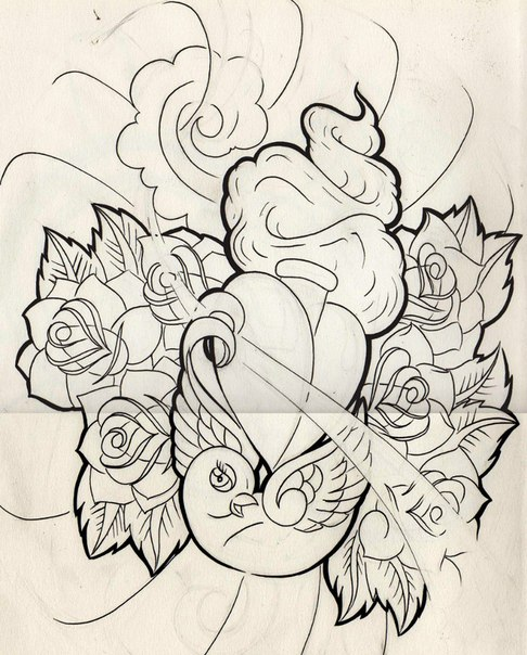 Tattoo sketches тату эскизы