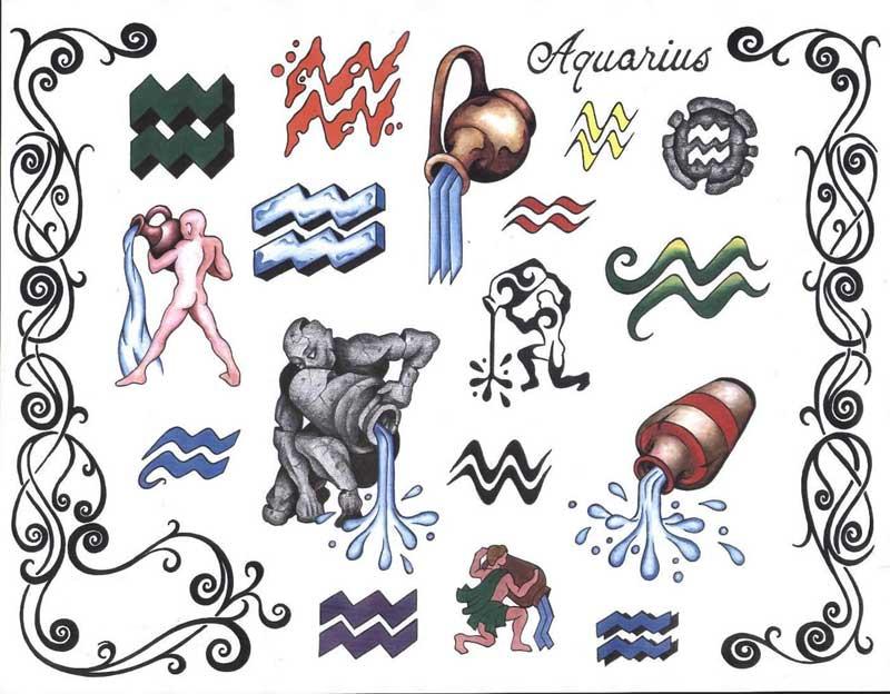 Татуировка водолея значение